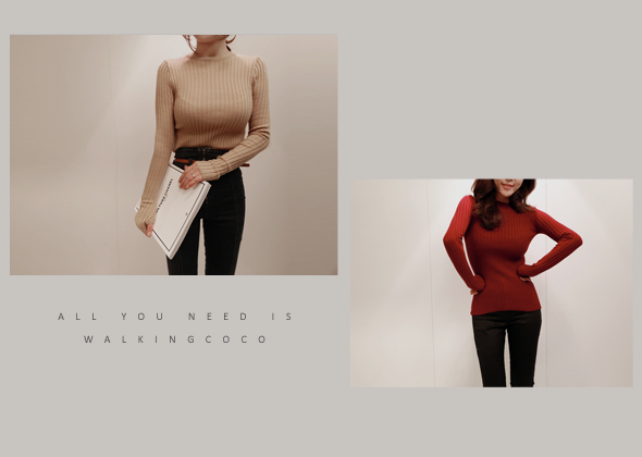 [SALE] slender fit knit