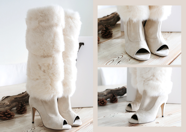 winter rabbit boots