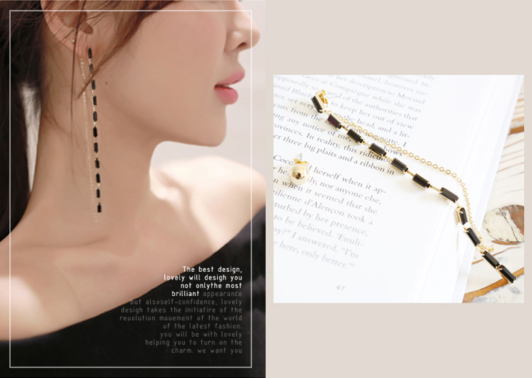gold warm earing