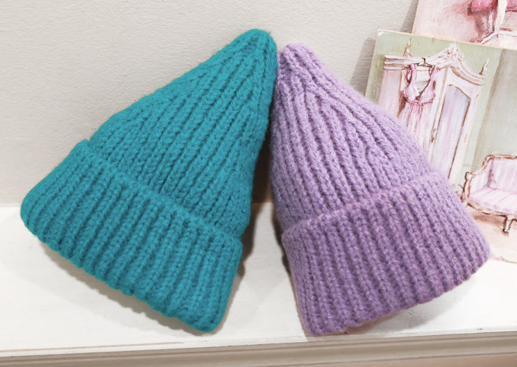 sherbet knit hat