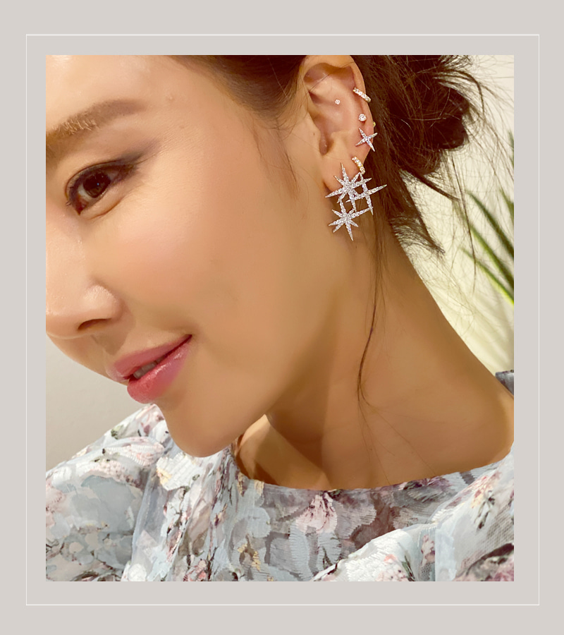 shooting star earing