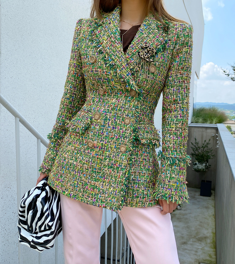 retro tweed jacket