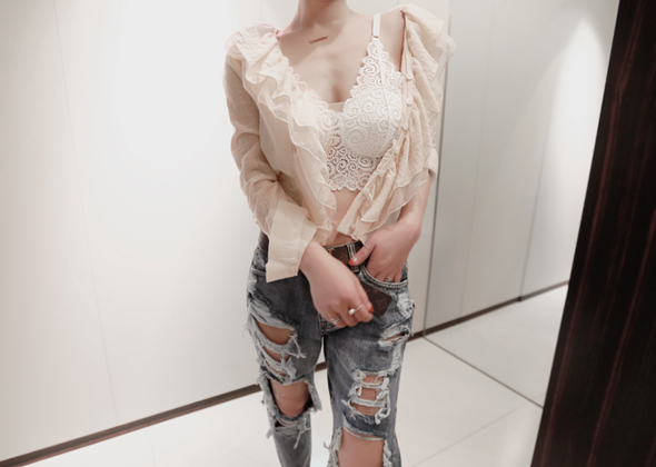 emma lace top
