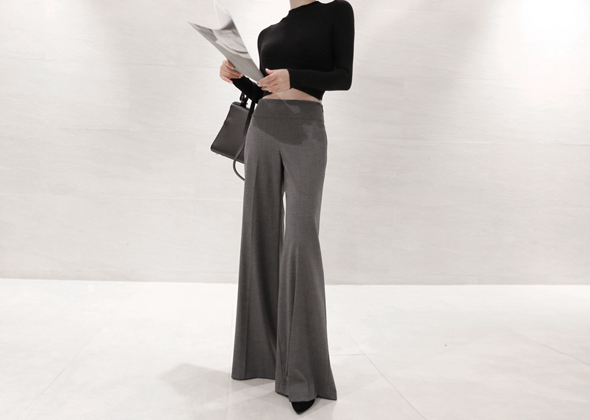 natural slacks (gray)