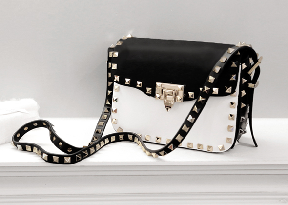chic rockstud mini bag