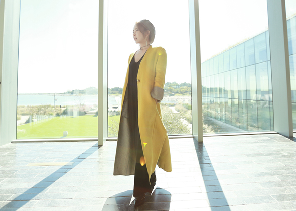 gold pearl coat (yellow)