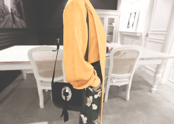 stage mini tassel bag