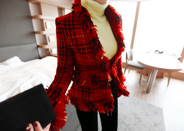 isabella jacket (red)