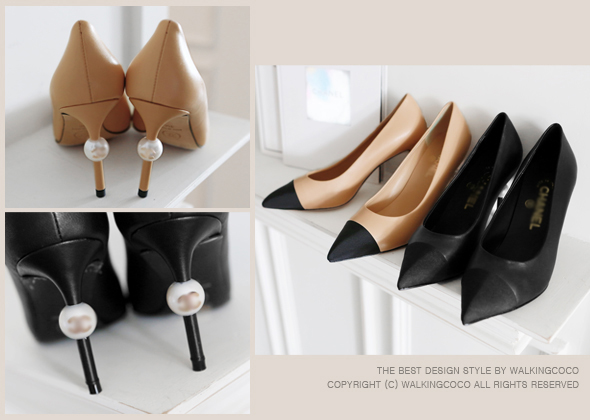 cha pearl point heel
