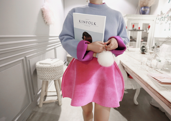 angora both sides knit