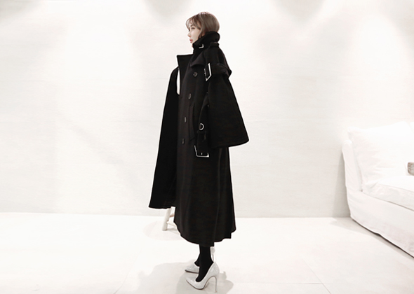 [EVENT] mono belt coat (black)