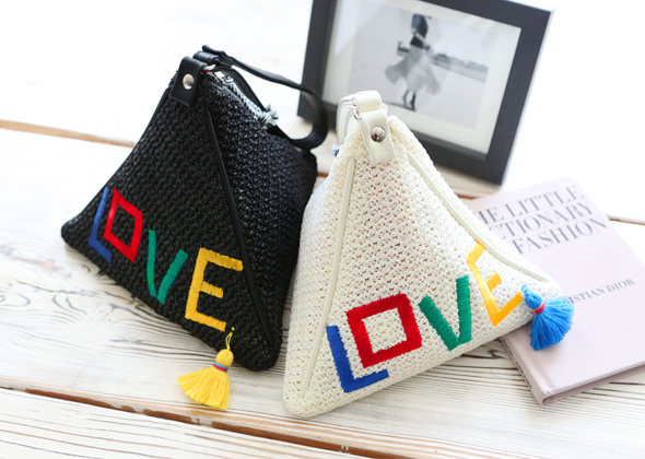 triangle love bag