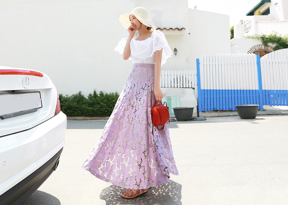 bonnie flower skirt
