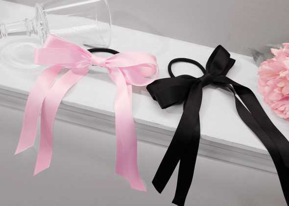 girlish ribbon hair strap