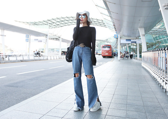 thirty denim pants (blue)