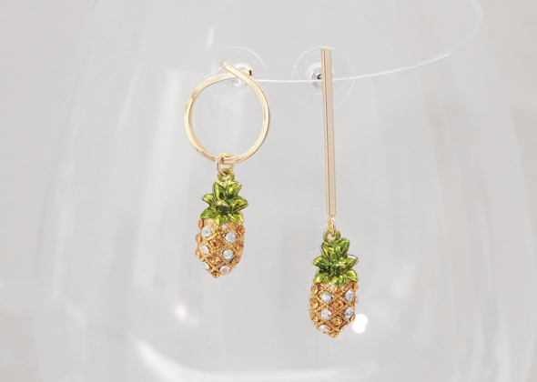 pineapple earing