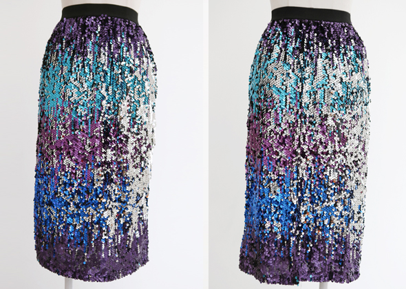 [SALE] purple wave skirt