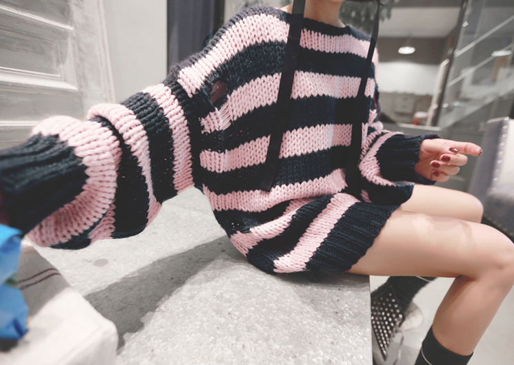 holi stripe knit