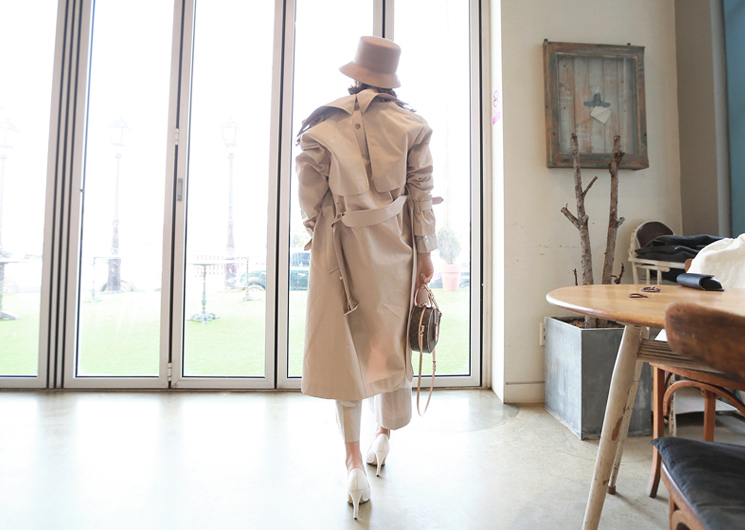 french trench coat (beige)