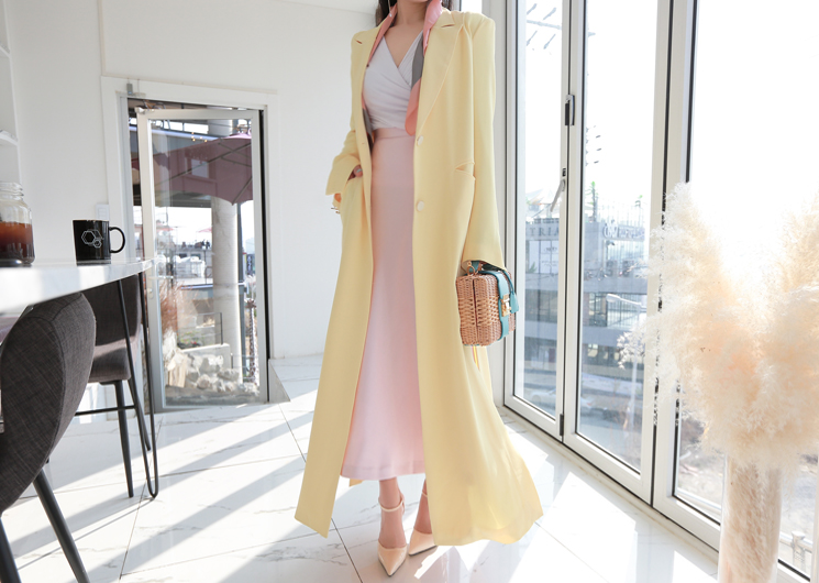beni long coat (yellow)