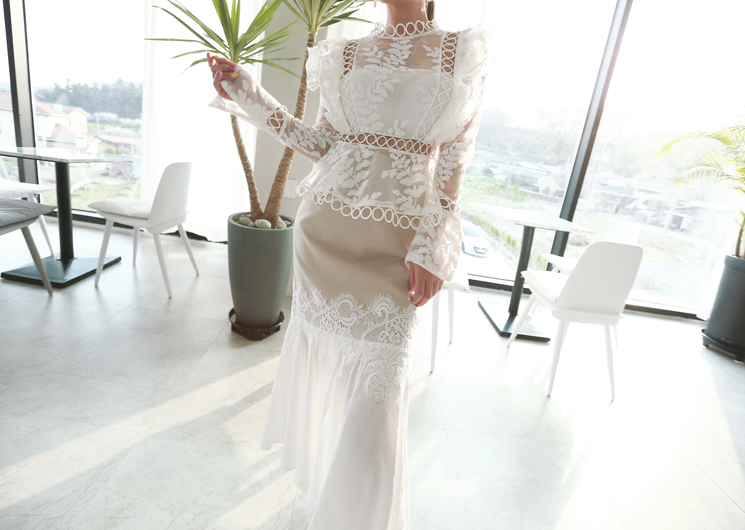 destiny lace blouse