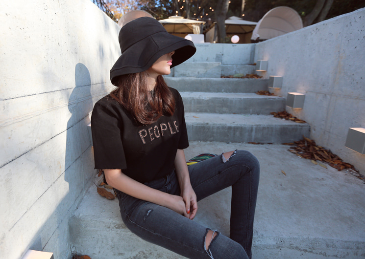 leopard people tee