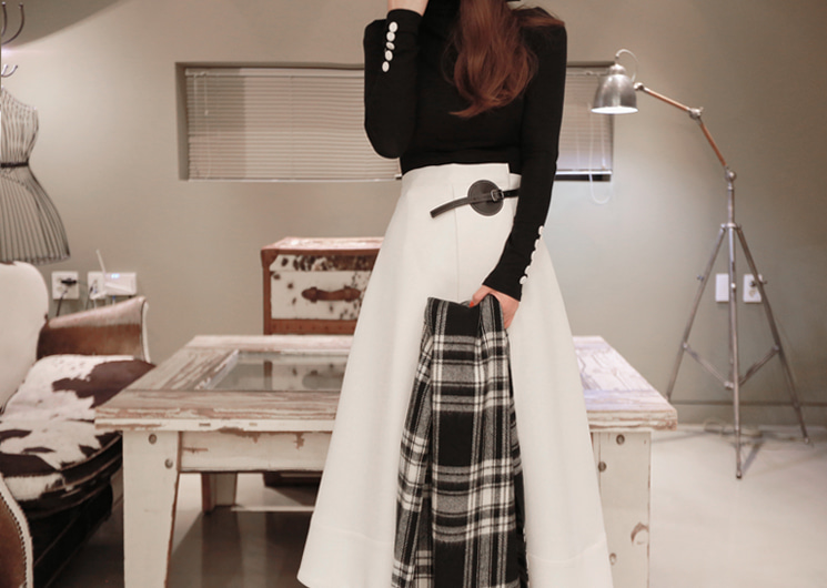 hook belt skirt