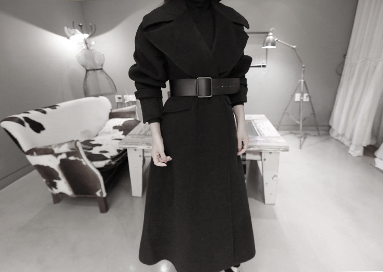 collar point coat
