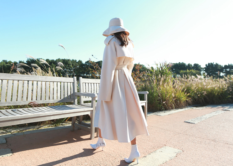 dear wool coat (ivory)