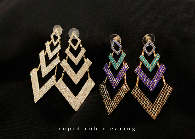 cupid cubic earing