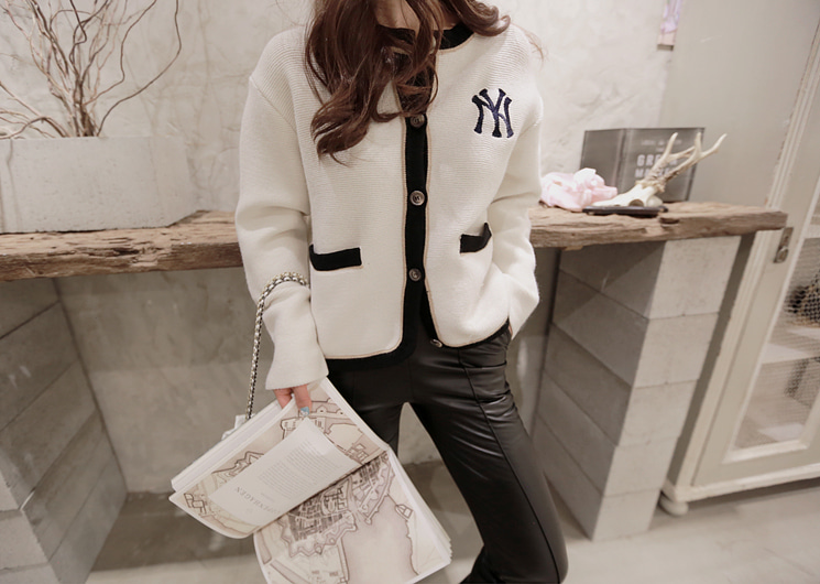 daily new york cardigan