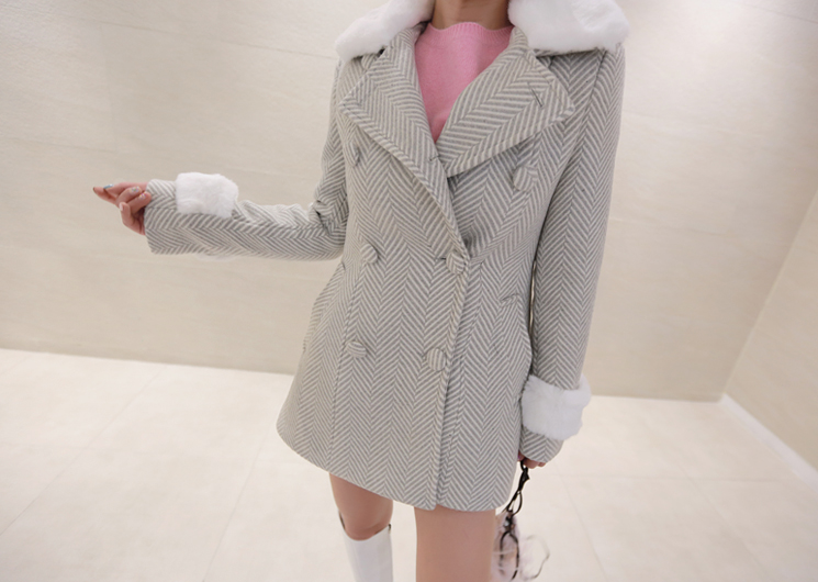 welcome half coat (ivory)