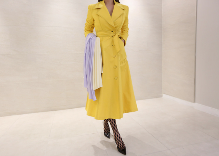 stitch trench coat 2