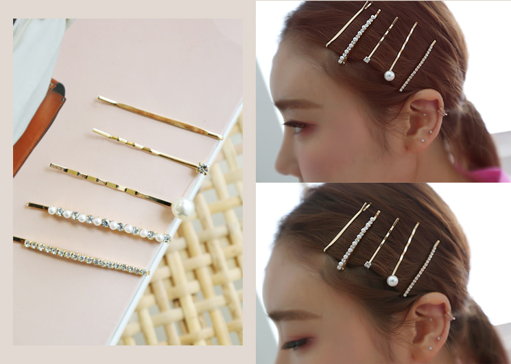 layered hair pin