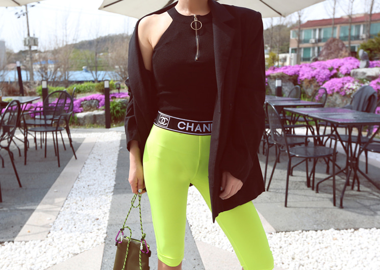 cha half leggings