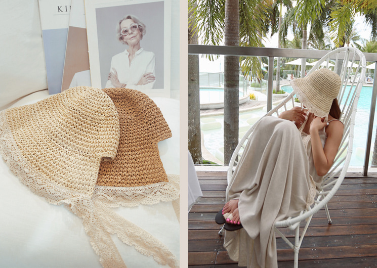 summer lace hat