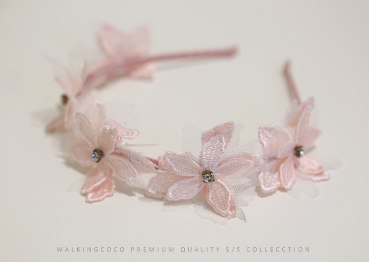 flower garden hair band