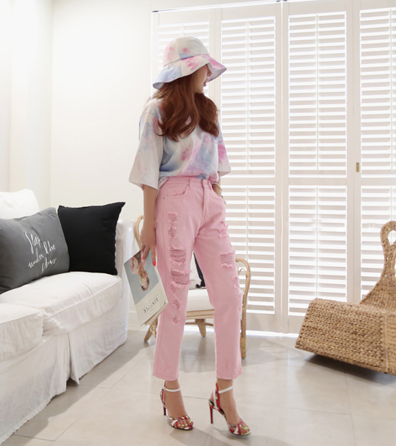 pink candy pants