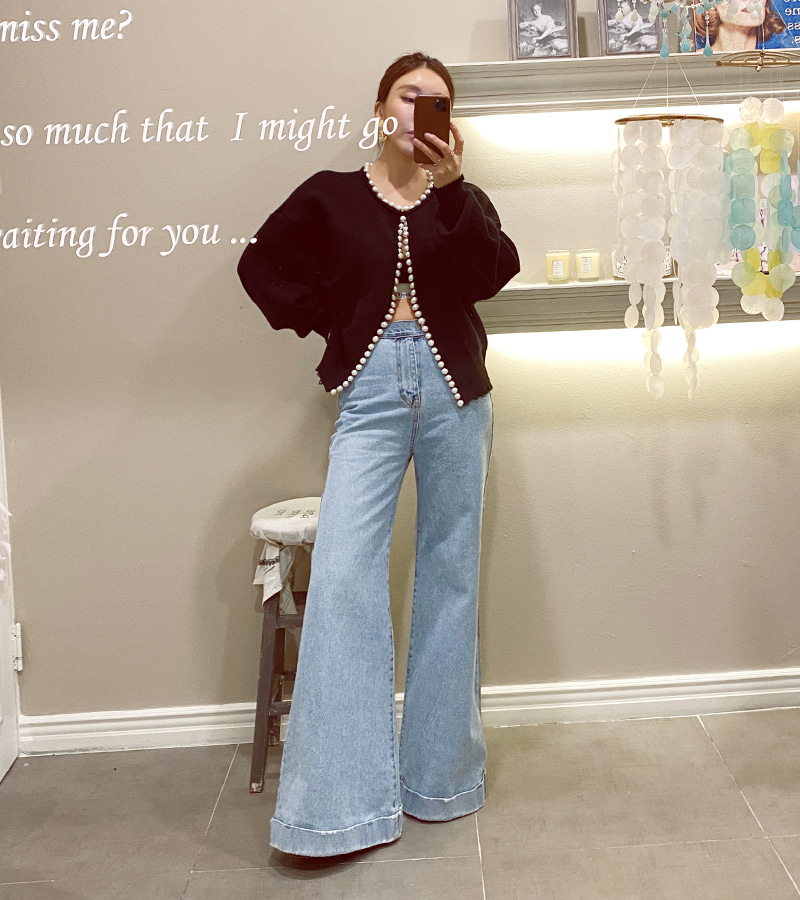somthing denim pants