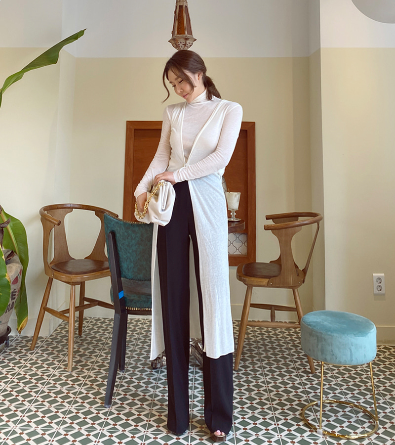time long cardigan (ivory)