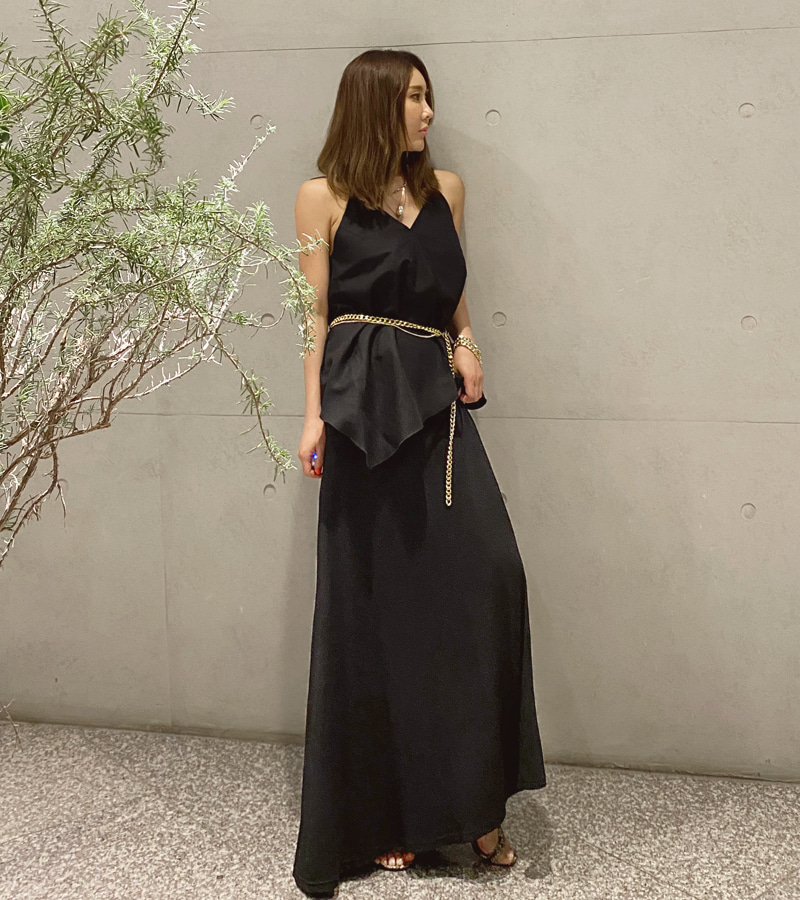 daily color skirt (black)