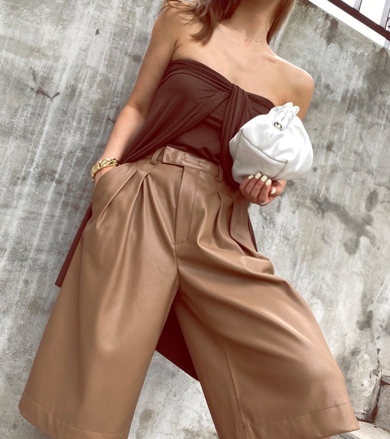 special day skirt (brown)