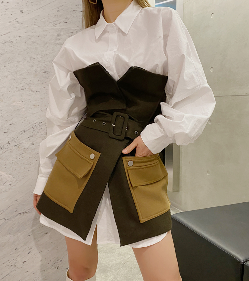 Pocket Belt Top