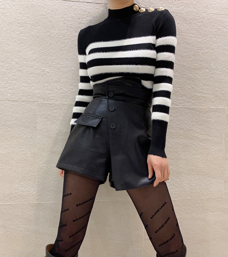 Mink Stripe Knit