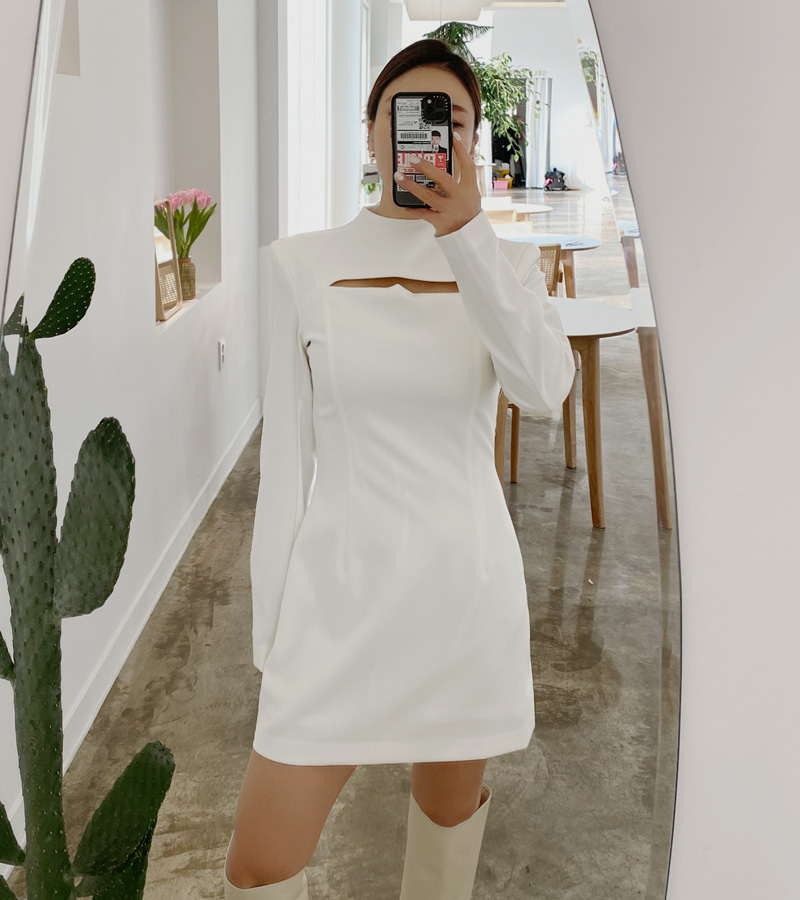 Refined One-piece(ivory)