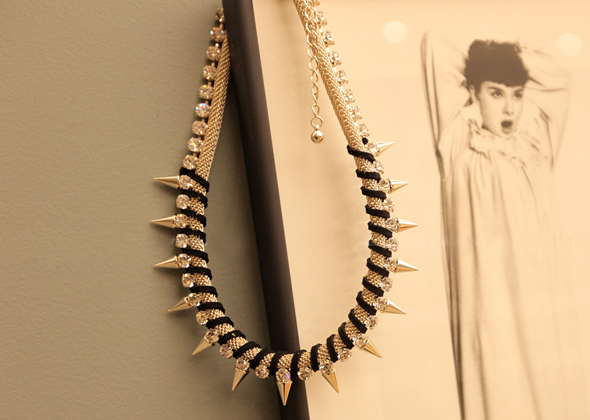 [SALE]prickle necklace