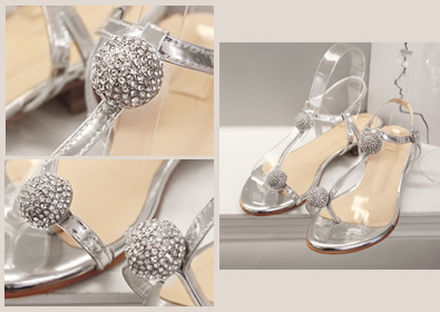 silver candy sandle